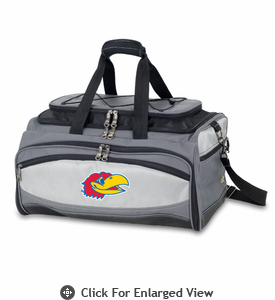 Picnic Time Buccaneer Embroidered University of Kansas Jayhawks