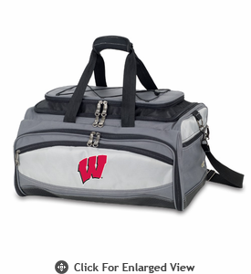 Picnic Time Buccaneer Embroidered University of Wisconsin Badgers