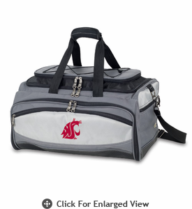 Picnic Time Buccaneer Embroidered Washington State Cougars
