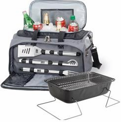Picnic Time� Buccaneer Tailgating Cooler With 3 Piece BBQ Set