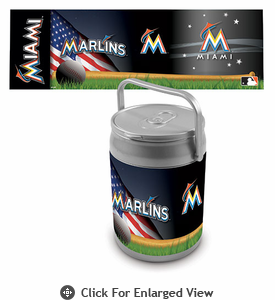 Picnic Time Can Cooler Miami Marlins