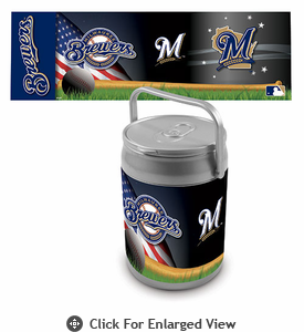 Picnic Time Can Cooler Milwaukee Brewers