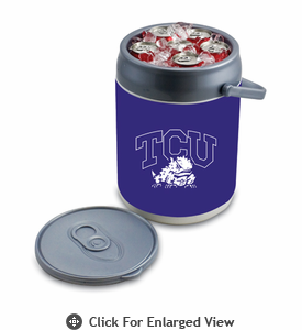 Picnic Time Can Cooler TCU Horned Frogs