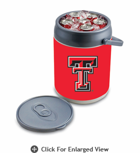 Picnic Time Can Cooler Texas Tech Red Raiders