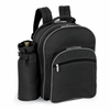 Picnic Time Capri Picnic Backpack for 2 Black/Grey