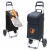 Picnic Time Cart Cooler - Black Baltimore Orioles