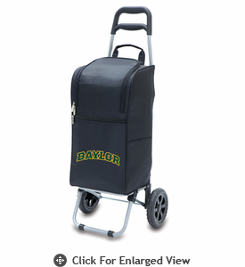 Picnic Time Cart Cooler Black Baylor University Bears