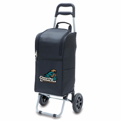 Picnic Time Cart Cooler Black Coastal Carolina University Chanticleers