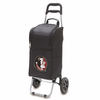 Picnic Time Cart Cooler Black Florida State University Seminoles