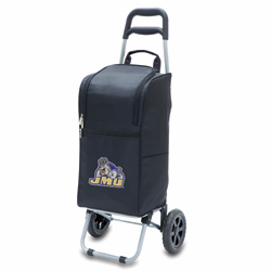 Picnic Time Cart Cooler Black James Madison University Dukes