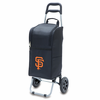 Picnic Time Cart Cooler - Black San Francisco Giants
