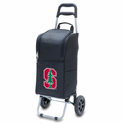 Picnic Time Cart Cooler Black Stanford University Cardinals