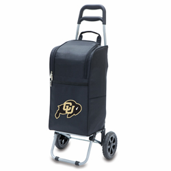Picnic Time Cart Cooler Black University of Colorado Buffaloes