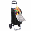 Picnic Time Cart Cooler Black University of Georgia Bulldogs
