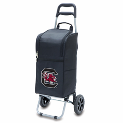 Picnic Time Cart Cooler Black University of South Carolina Gamecocks