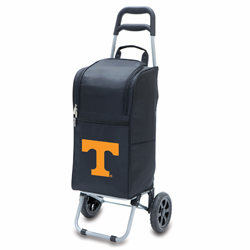 Picnic Time Cart Cooler Black University of Tennessee Volunteers