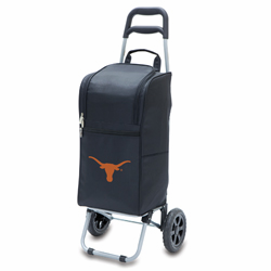 Picnic Time Cart Cooler Black University of Texas Longhorns