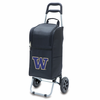 Picnic Time Cart Cooler Black University of Washington Huskies