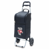 Picnic Time Cart Cooler Black University of Wisconsin Badgers