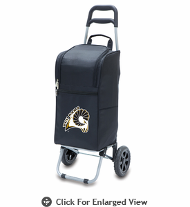 Picnic Time Cart Cooler Black Virginia Commonwealth University Rams