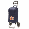 Picnic Time Cart Cooler Navy Blue Auburn University Tigers