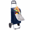 Picnic Time Cart Cooler Navy Blue Brigham Young University Cougars