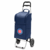 Picnic Time Cart Cooler - Navy Blue Chicago Cubs