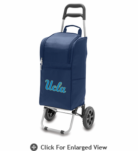 Picnic Time Cart Cooler Navy Blue UCLA Bruins