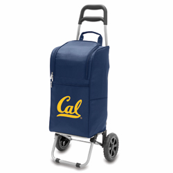 Picnic Time Cart Cooler Navy Blue University of Cal Berkeley Golden Bears