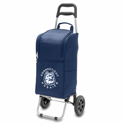 Picnic Time Cart Cooler Navy Blue University of Connecticut Huskies