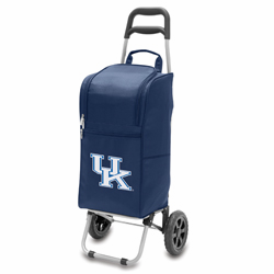 Picnic Time Cart Cooler Navy Blue University of Kentucky Wildcats