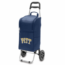 Picnic Time Cart Cooler Navy Blue University of Pittsburgh Panthers