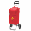 Picnic Time Cart Cooler Red Arizona State University Sun Devils