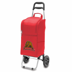 Picnic Time Cart Cooler Red Cornell University Bears