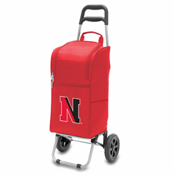 Picnic Time Cart Cooler Red Northeastern University Huskies