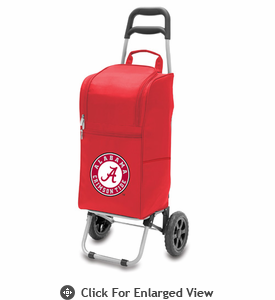 Picnic Time Cart Cooler Red University of Alabama Crimson Tide