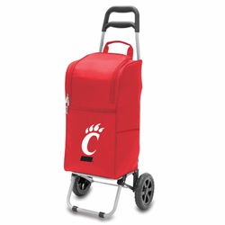 Picnic Time Cart Cooler Red University of Cincinnati Bearcats