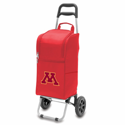 Picnic Time Cart Cooler Red University of Minnesota Golden Gophers