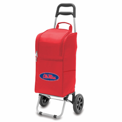 Picnic Time Cart Cooler Red University of Mississippi Rebels