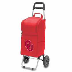 Picnic Time Cart Cooler Red University of Oklahoma Sooners