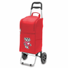 Picnic Time Cart Cooler Red University of Wisconsin Badgers