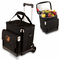 Picnic Time Cellar w/ Trolley - Black Baltimore Orioles