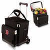 Picnic Time Cellar w/ Trolley - Black Boston Red Sox