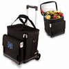 Picnic Time Cellar w/ Trolley - Black Detroit Tigers