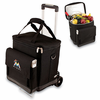 Picnic Time Cellar w/ Trolley - Black Miami Marlins