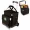 Picnic Time Cellar w/ Trolley - Black Oakland Athletics