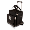 Picnic Time Cellar w/ Trolley - Black San Diego Padres