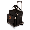 Picnic Time Cellar w/ Trolley - Black San Francisco Giants