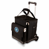 Picnic Time Cellar w/ Trolley - Black Seattle Mariners