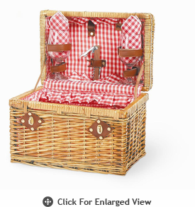 Picnic Time�  Chardonnay Wine Basket for 2